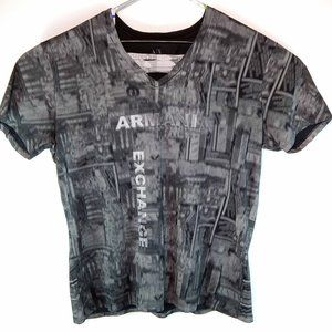 Armani Exchange Spell Out Logo Mens 2XL T-Shirt